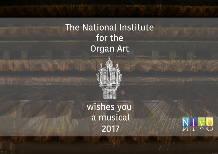 The National Institute for the Organ Art wishes you a musical 2017